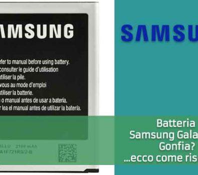 Batteria Samsung Galaxy S3 Gonfia